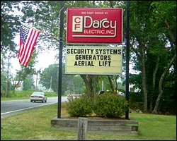 CF Darcy Electric Offcie in Middleboro, MA